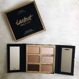 Tarte Pro Glow Palette highlighter and contour